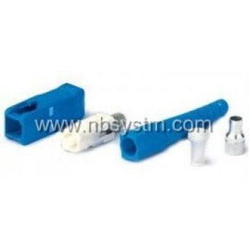 SC / PC SM Simplex Fiber Connector 3.0mm, couleur bleue