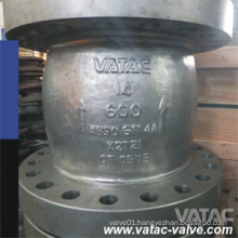 Cast Ss Ss304/Ss316/Ss304L/Ss316L RF Flanged Axial Flow Check Valve