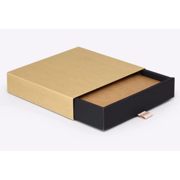 Gift Candy Drawer Packaging Boxes Dengan Ribbon Tie