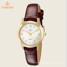Women′s Elevated Classics Dress Burgundy Leather Strap Watch 71180