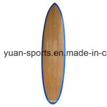 Superficie de bambú de la chapa de la base del EPS sube la tabla de surf de la paleta con