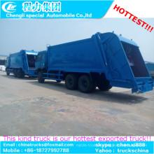 5000gallons Rhd marca Dongfeng 6 X 4 camión compactador de residuos