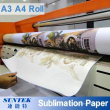 A3 A4 Roll Metal, cerámica, camiseta, papel de sublimación textil