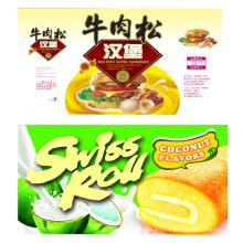 Manga del encogimiento del PVC de la categoría alimenticia / película encogible para la comida
