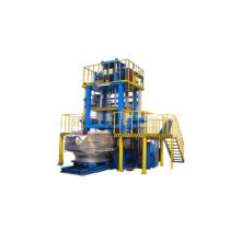 Maquinaria de fundición a baja presión de aleación de aluminio.