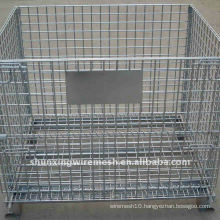 Galvanized Wire Mesh Container