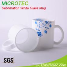 11oz weiße beschichtete Sublimationsglas-Becher (MT-B025)