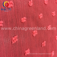 Polyester Jacquard Fabric for Woman Dress Garment (GLLML231)