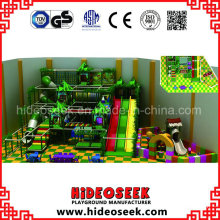 Jungle Theme Amusement Park Naughty Castle for Indoor Play Center