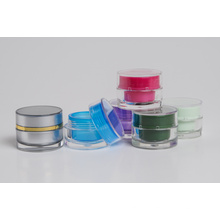 5g Mini Cilindro plástico acrílico Jar (EF-J37)