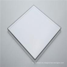 Panel de plástico de tablero de policarbonato sólido transparente