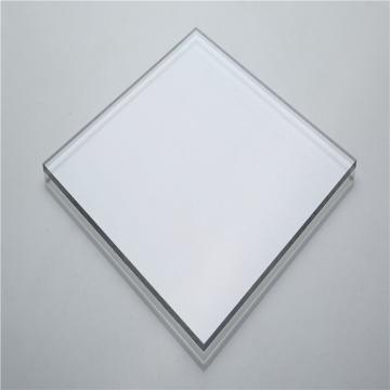 Transparent solid polycarbonate sheet panel