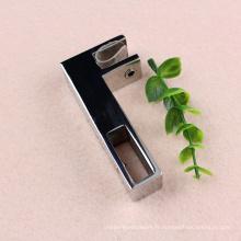 Accessoires de quincaillerie de porte en verre sécuritaire de haute qualité / pince en verre