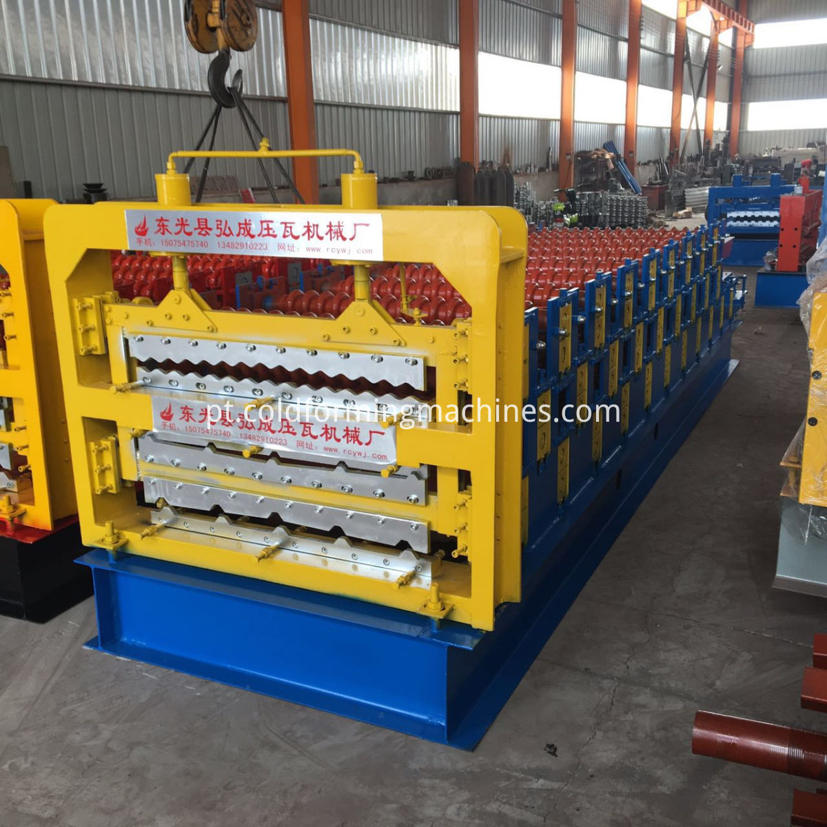 Three layer roll forming machine 2