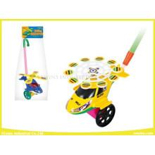 Push Pull Spielzeug Hubschrauber Kunststoff Spielzeug