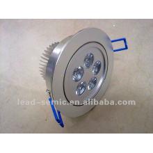 Lavabo iluminación sensor movimiento 6w led lámparas hotel vestíbulo luz de techo