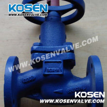 Cast Iron Bellow Seal Globe Valve (WJ41)