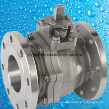 150lb Cast Carbon Steel Floating Type Flange End Ball Valve