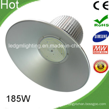 High Lumens Warehouse 185W LED High Bay Light Whit Samsung SMD 5630 Meanwell Driver