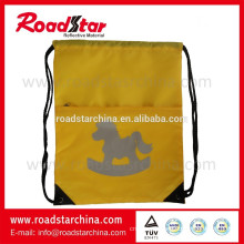 100% polyester reflective sling bag for cycling