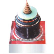 (TS-YJV 26 / 35KV 1 * 150) 26 / 35KV изоляцией из сшитого полиэтилена силовой кабель для оболочек из ПВХ для конструкций