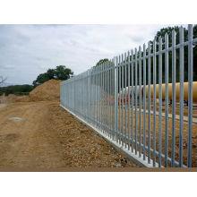 Günstige High Security Angle Stahl Palisade Fechten für Garten Dekoration