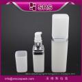 SRS free sample 50ml 120ml cosmetic PP white plastic empty bottle for skin care