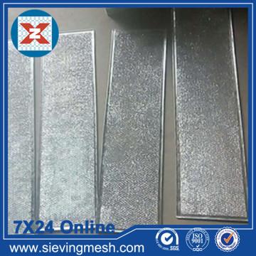 Filtre de maille de papier d'aluminium
