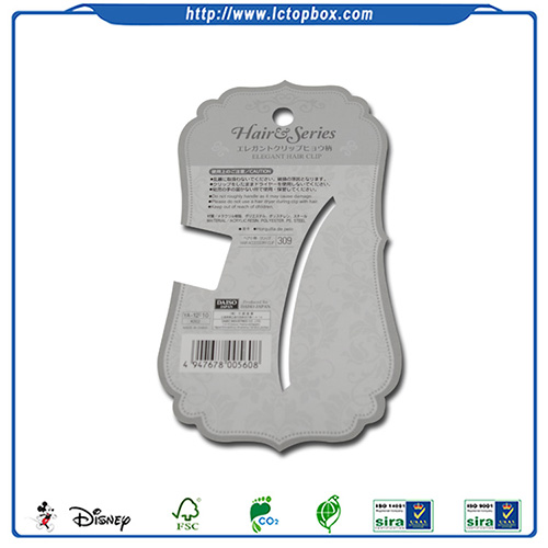 Eco-friendly garment hang paper tag printing