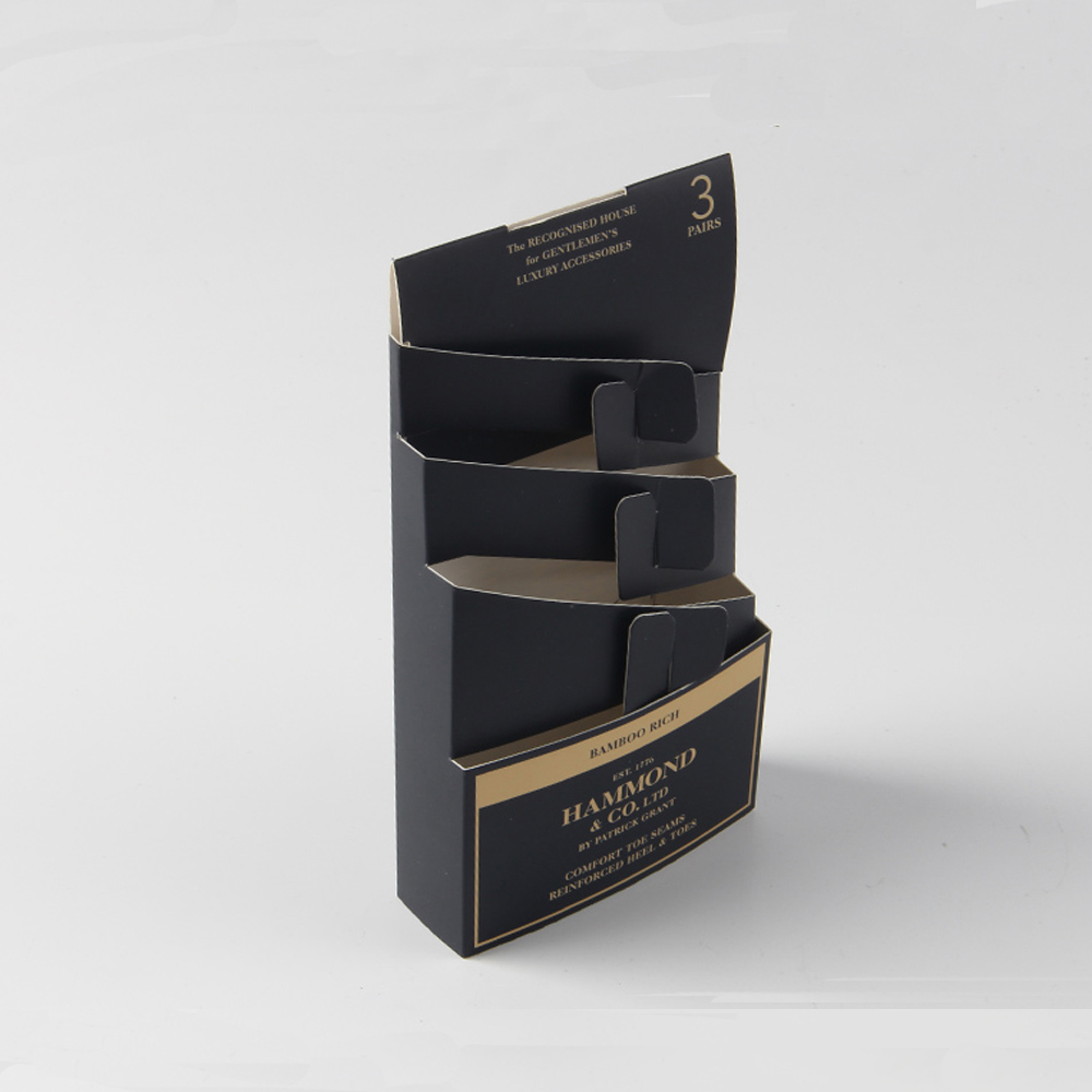 Characteristic Design Socks Packaging Paper Box