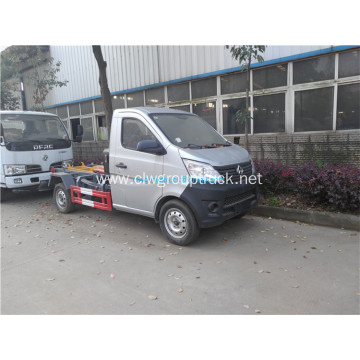 Changan 4x2 waste trash removable bin garbage truck