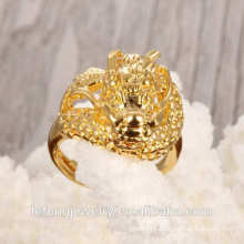 Hot sale Fashionable Antique Copper gold plating wedding ring women Ring