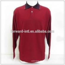 2015 fábrica del varón del suéter de encargo directamente precio