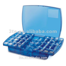 Optical plastic Push-Pull tool box for eyewear accessories