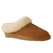 Cheap for China Mens Winter House Slippers,Winter Outdoor Slippers Mens,Mens Winter Slippers For Home Supplier best selling women fuzzy indoor sheepskin ankle slippers export to Guinea Exporter