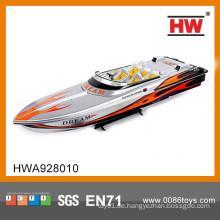 Heißer Verkauf 3 CH Hochgeschwindigkeitsgroßes Fernsteuerungsboot