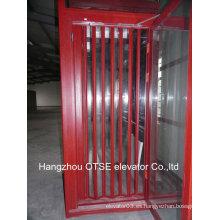 Cabina de ascensor para puerta plegable