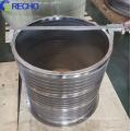 Paper Making Pulp Stock Pre  Stainless Steel Pressure Screen Basket
