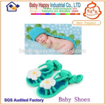 New arrival hot girl crochet baby sandals