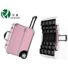 Rolling Cosmetic Case with Trolley for Make up