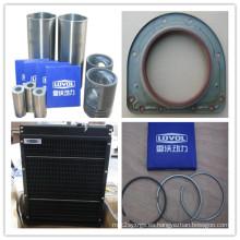Sello de aceite (delantero), manga del cilindro, anillo de pistón, radiador de Lovol