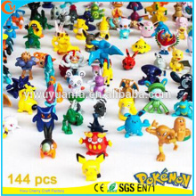 High Quality Charming Fashion Popular Toy Pokemon Cartoon Various Color Stuffed Animal 144 Designs Mini Pokemon Go Pokeball