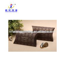 Cajas de papel innovadoras del papel del caramelo de la boda de la forma de la almohadilla con diseño modificado para requisitos particulares