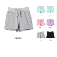 OEM Mulheres Vestuário 2015 Alta Qualidade Sportswear Mulheres Cotton Shorts