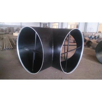 Conexões de tubo de topo ASTM A860 Grau WPHY 52