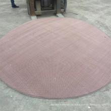 Korrosionsbeständigkeits-Kupfermaschendraht-Filter-Schirm für Drogen-Prozessindustrie