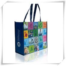 Laminado PP preço saco não tecido, saco não tecido Foldable, Recylable não tecido do saco como brinde promocional (TI05003)