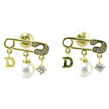 New Design for Woman′s Earring 925 Silver Jewelry (E6531)