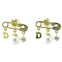 Новый дизайн для женской серьги 925 серебряных украшений (E6531)