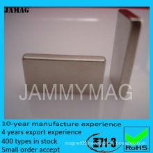 large rare earth square magnet